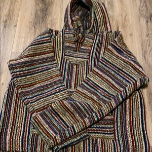 Poncho colorful and beautiful